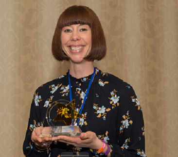Dr. Sarah Tanner-Anderson - 2019 Rising Star Award - Higher Education